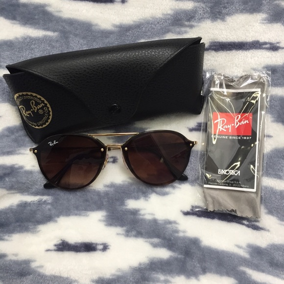 327c8ee4c1 Blaze Double Bridge Ray Bans. M 5abfe0cb00450f13e3469cfe